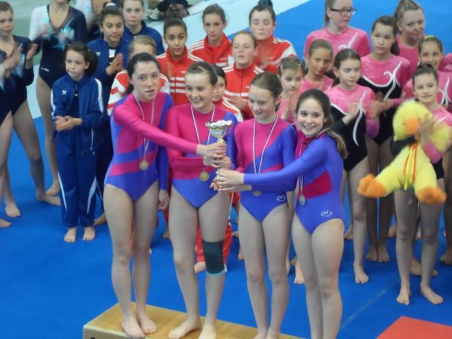 compétition vichy 3eme par équipe